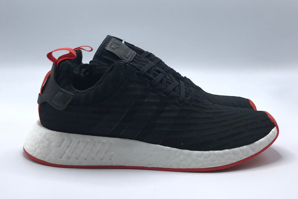 Adidas Originals NMD R2 Primeknit - black/red