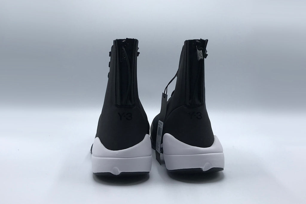 Y-3 Future Zip High (Core Black & White)