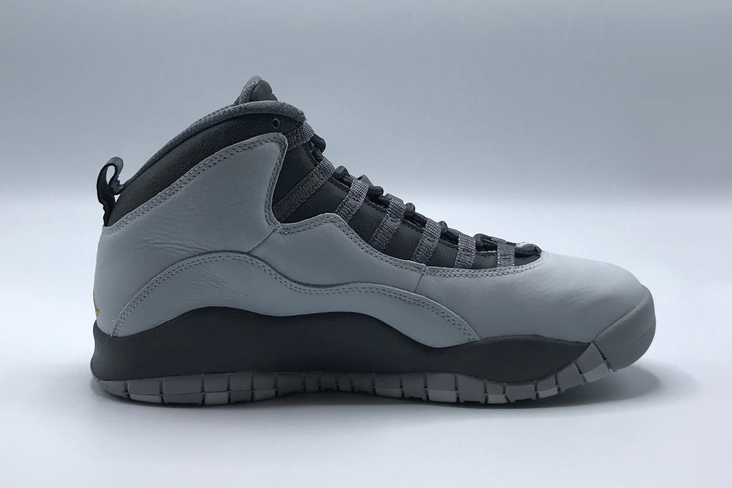 Air Jordan 10 (X) Retro Pure Platinum/Metallic