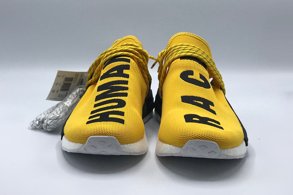 new styles 8e326 486b4 adidas Pharrell x NMD 'Human Race' 'Yellow and Black'
