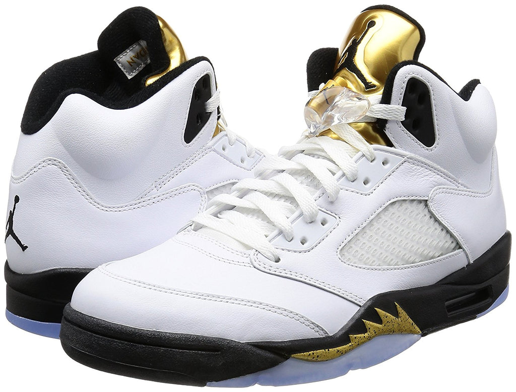 Jordan Men's Air 5 Retro PREM, PURE PLATINUM/PURE PLATINUM