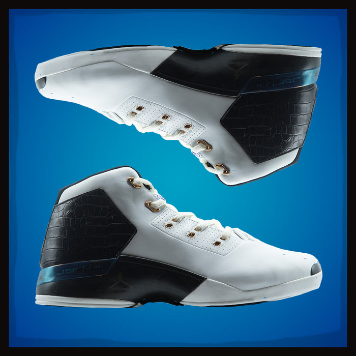Air Jordan XVII OG White Black
