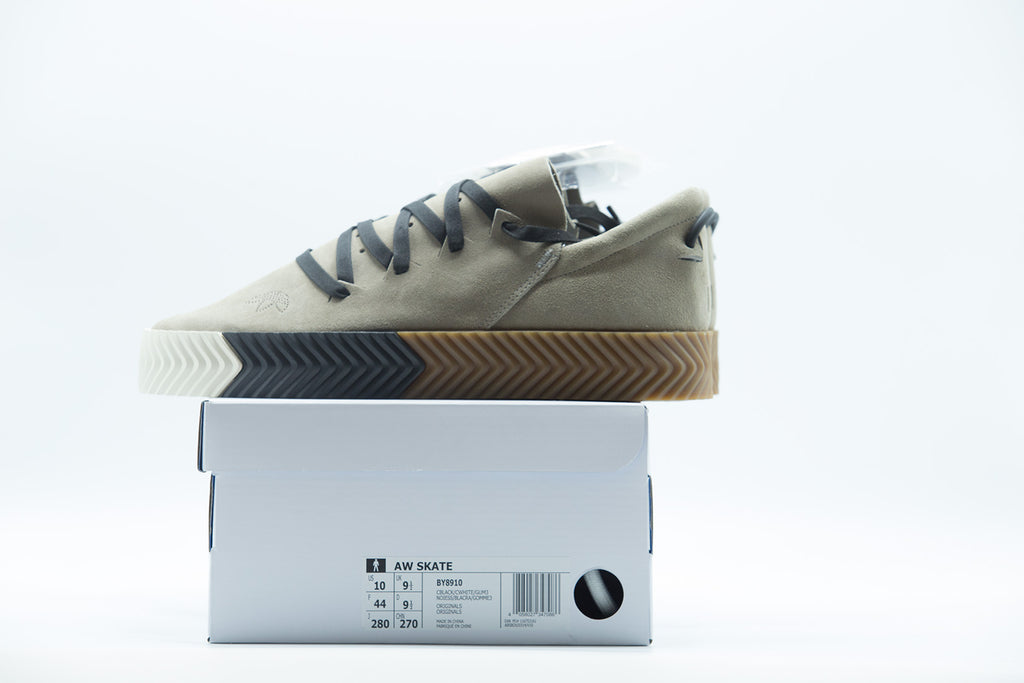best authentic b17ce 611c7 adidas Alexander Wang x AW Skate 'Light Grey'