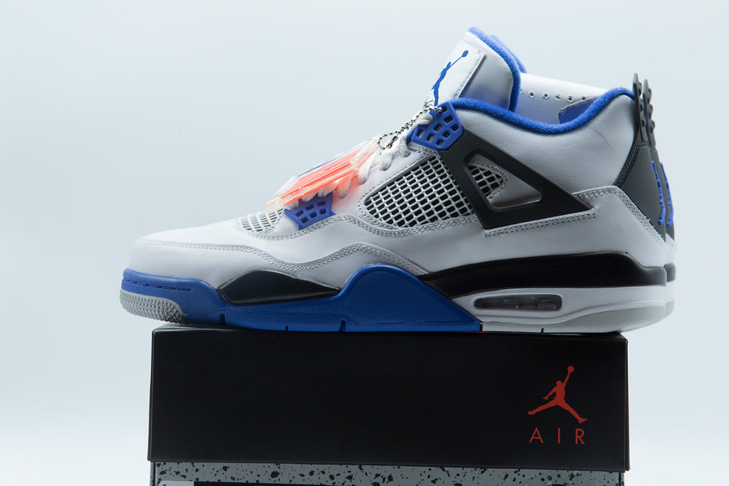 Air Jordan Retro 4 Motorsports Mid Mens Lifestyle Shoe