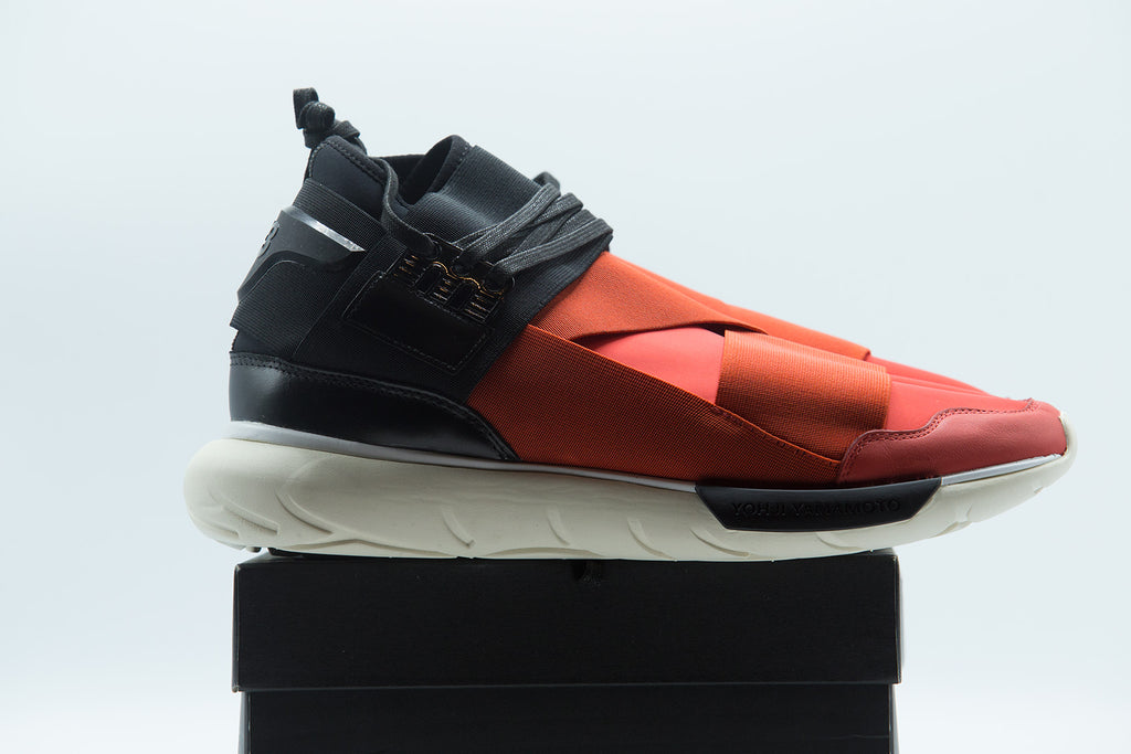 Y-3 QASA HIGH ROYAL RED & BLACK