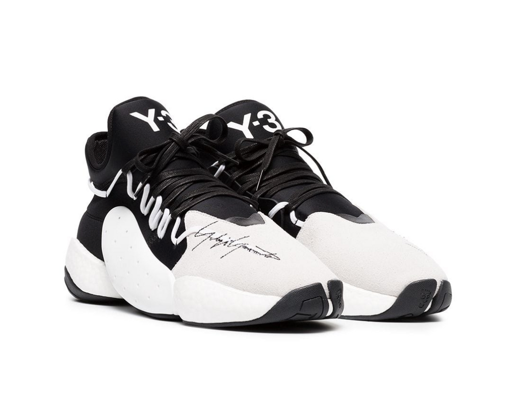 Y-3 Leather Basketball Trainers
