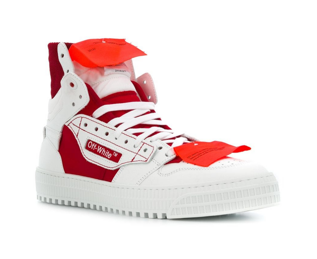 OFF-WHITE high top sneakers