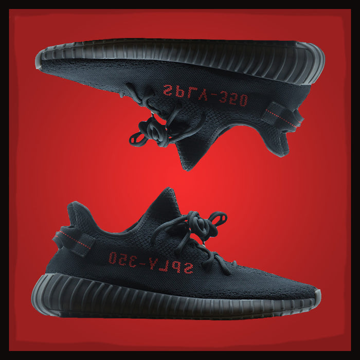 "adidas Yeezy Boost 350 V2 ""Black Red"""