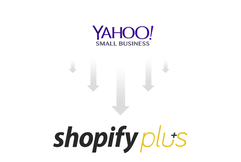 yahoo to shopify