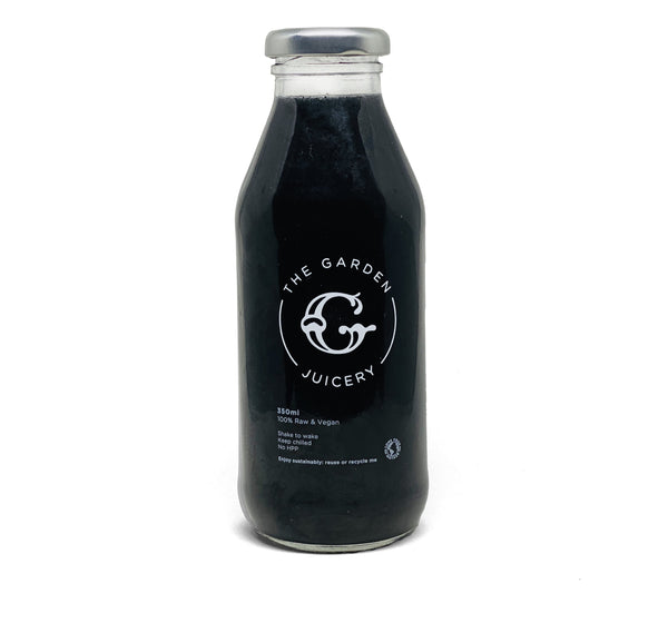 Hydration Juice: Charcoal Lemonade - The Garden Eatery
