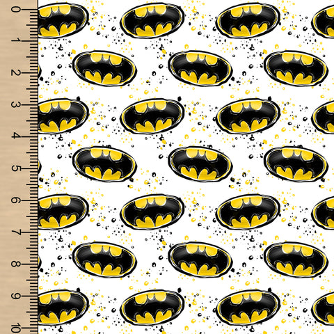 Bat Symbols White BL