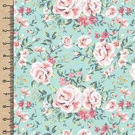 Floral on Mint BFT