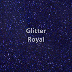 Siser Glitter HTV Royal Blue