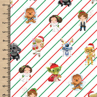 PREORDER Space Christmas White Stripe