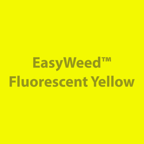 Siser Easyweed HTV Fluo. Yellow