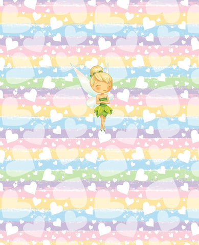 PREORDER Tink Heart Panel Child