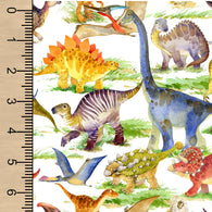 PREORDER Watercolour Dinosaurs