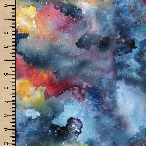 Watercolour Galaxy Swim
