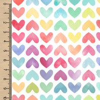 PREORDER Watercolour Rainbow Hearts