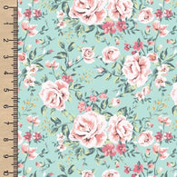 Floral on Mint BL