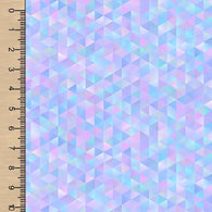 **NEW** PREORDER Purple Prismatic Rainbow Triangles SS