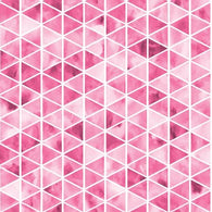 Watercolour Triangle Pink Board Short