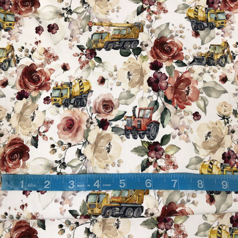 Floral Painted Trucks *misprint* CL