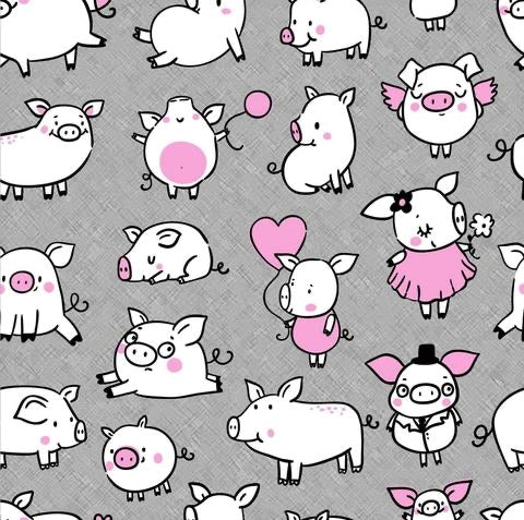 Pigs Pink FT