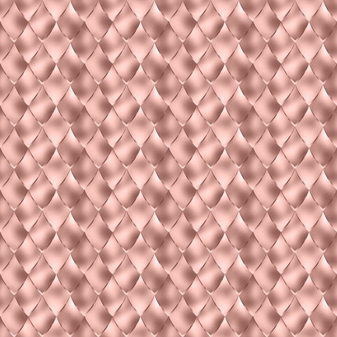 Rose Gold Dragon Scales Woven