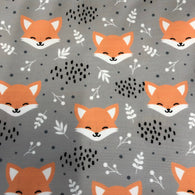 Flawed Sleepy Fox Grey Board Short