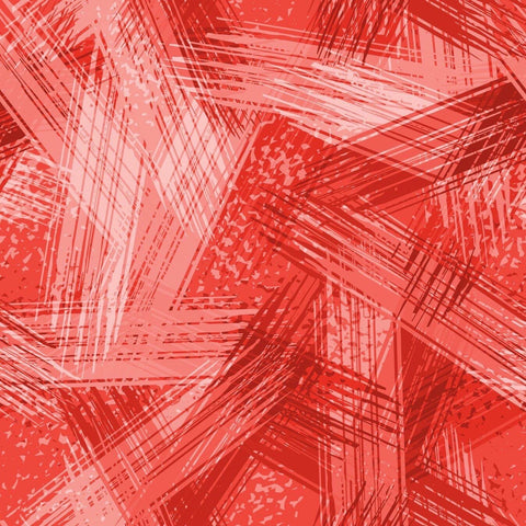"Remnant Brush Stroke Red 22"" Squish"
