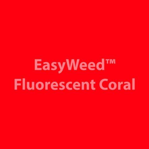 Siser Easyweed HTV Fluo. Coral