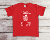 Hello Apple School Shirt