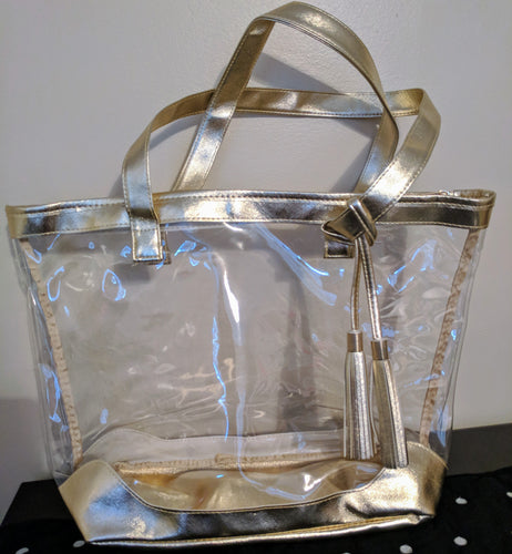 39202bac4b03 Game Day Clear Tote- Gold trim. Game Day Clear Tote- Gold trim. Regular  price  32.95 Sold out · OGIO Doppler Bag (hanging toiletry ...