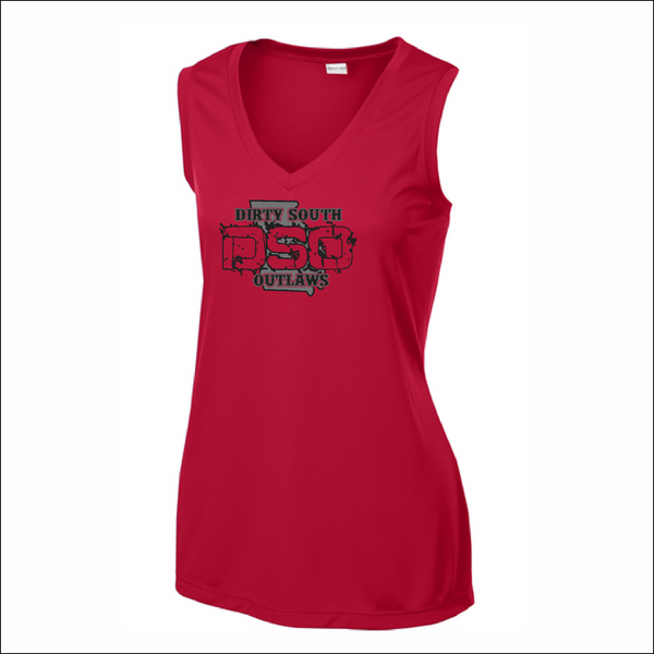 DSO Dri-Fit Sleeveless V-Neck Tee