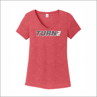 T2 - Ladies V-Neck Tee