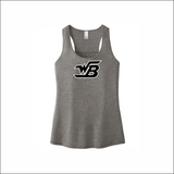 WB Racerback/Gathered Back Tank