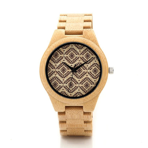 Montre en Bois Illusion