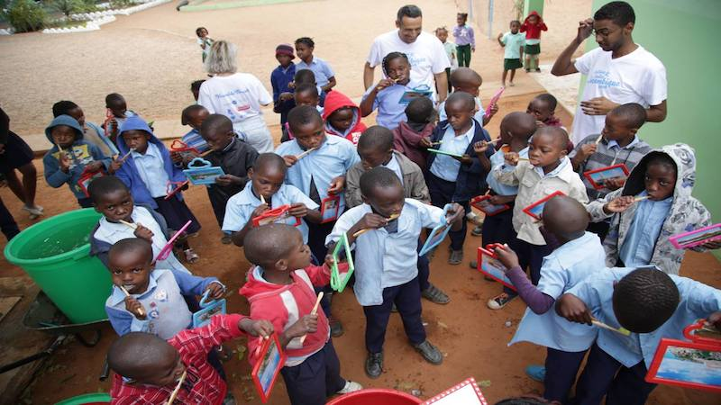 humble brush helping children