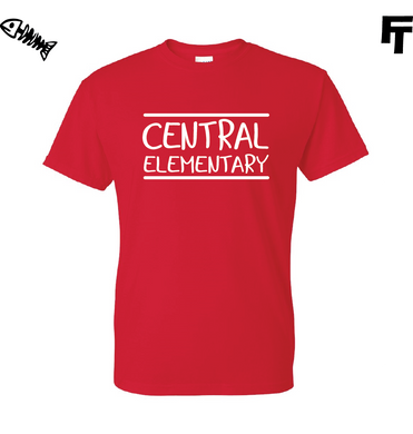 Central Elementary Red TShirt