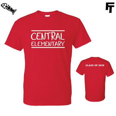 Central Elementary Graduation Year Shirt