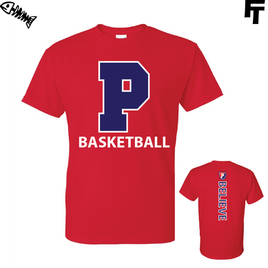Plainfield Basketball Believe T-Shirt