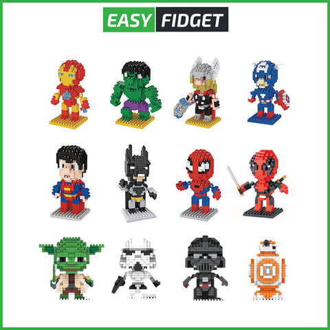 NANOBLOCKS SUPER HEROS - Easy Fidget