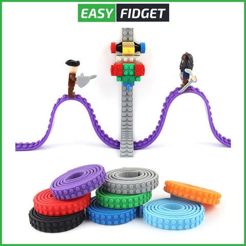 BANDES DE CONSTRUCTION ADHESIVES - Easy Fidget