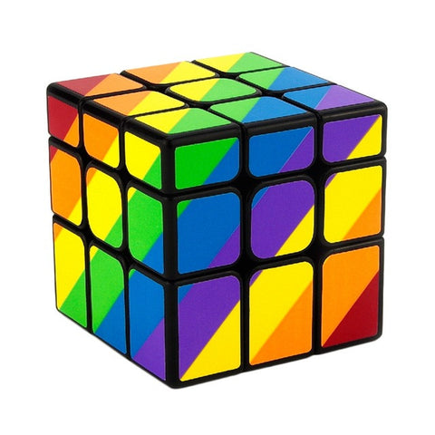MAGIC CUBE MIROIR ARC-EN-CIEL 3x3x3 - Easy Fidget