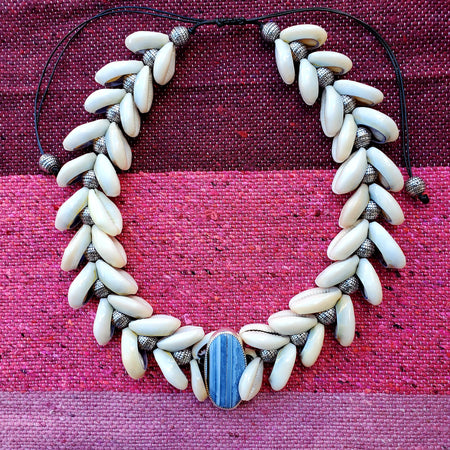 High Tides Necklace Turquoise (Choker Style)