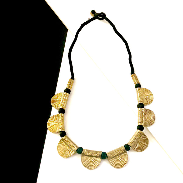 Gold Rays Small Necklace