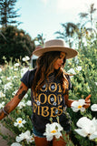 Good Vibes Vintage Washed Tee