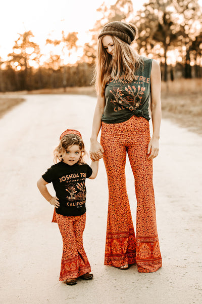 Rising Sun Bell-Bottoms (Women)