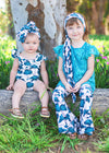 Tahitian Bloom Onesie